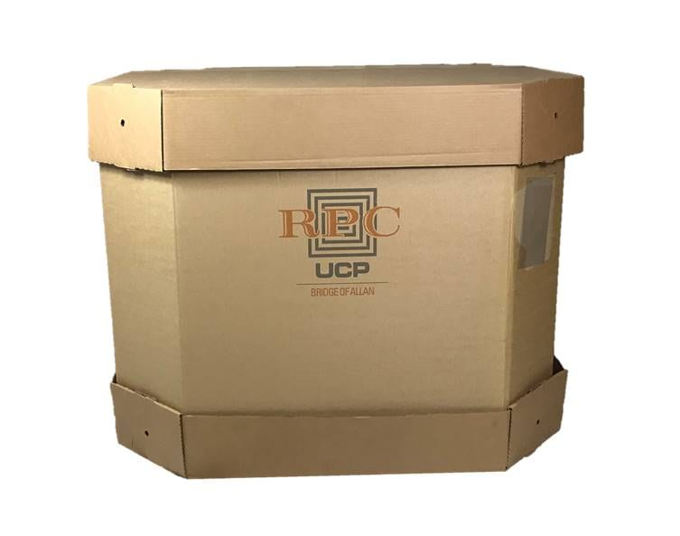 Cap And Sleeve Pallet Boxes
