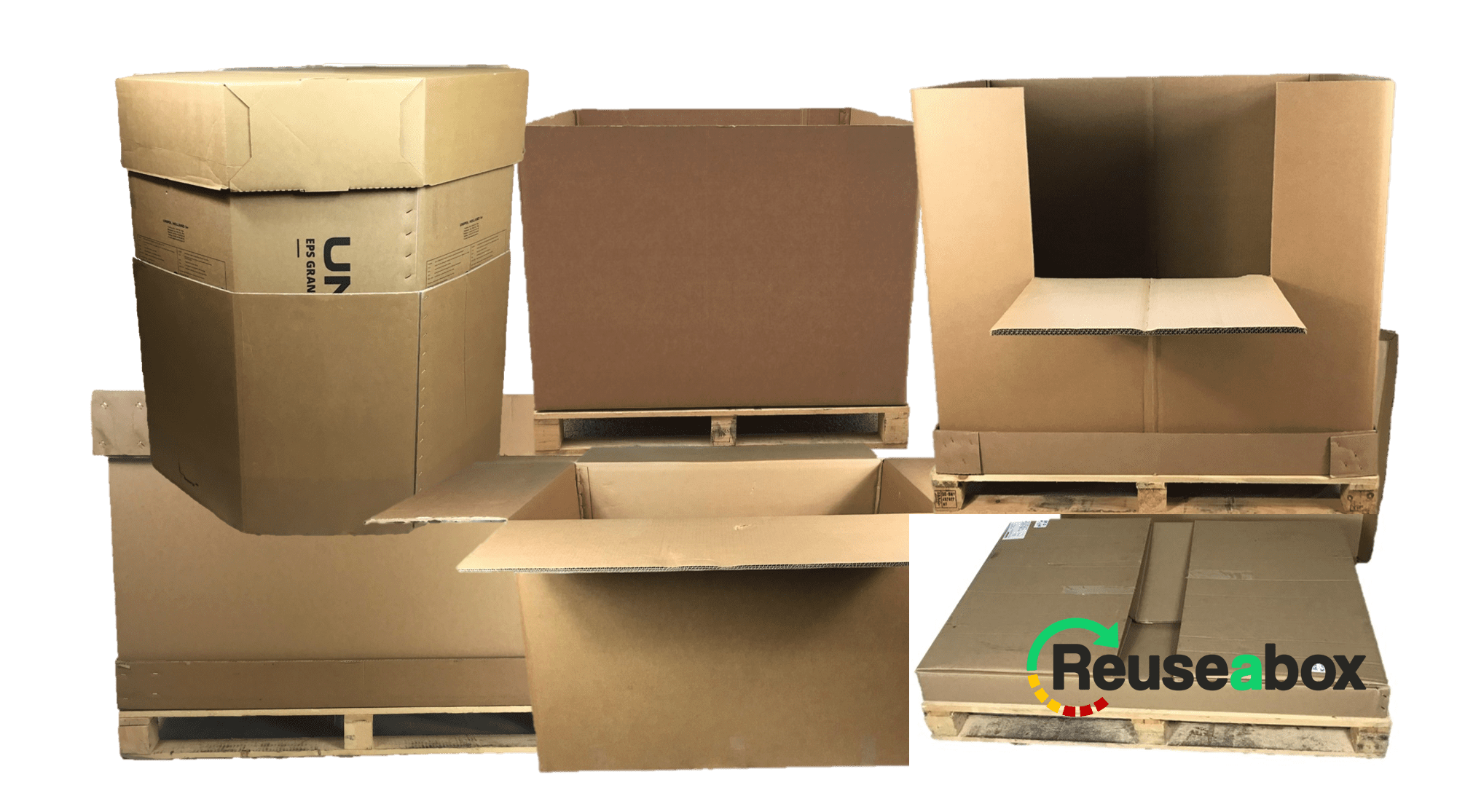 Reuseabox Pallet Boxes