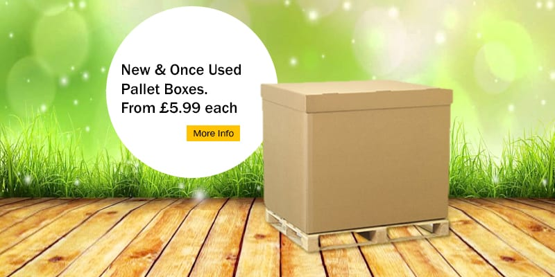 Cardboard Pallet Boxes: What Are They Ideal For?