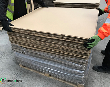Used Single Wall Layer Pads