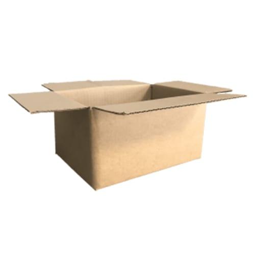 Single wall shipping boxes