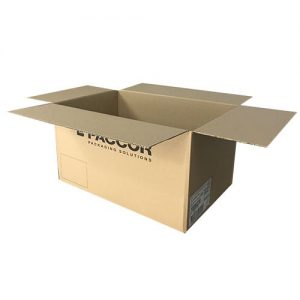 Used printed packing boxes