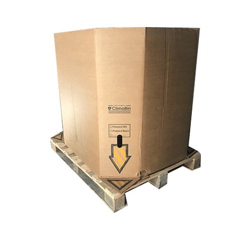 Used Extra Heavy Duty Cardboard Octabins