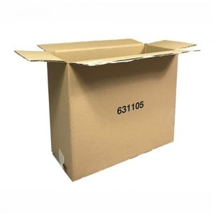 Used Plain Heavy Duty Single Wall Shipping Boxes