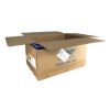Used Printed Heavy Duty Double Wall Shipping Boxes