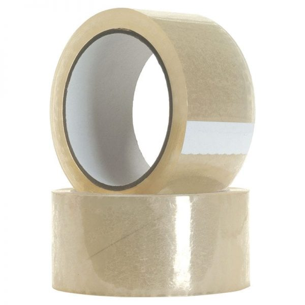 clear acrylic packing tape