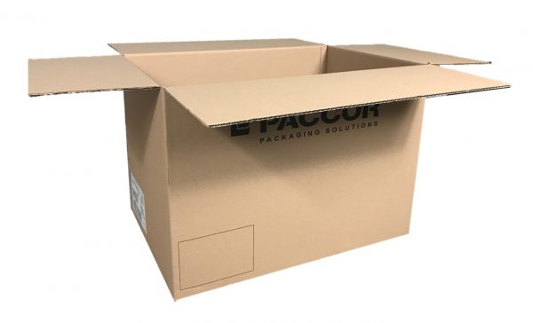 Used Printed Strong Single Wall Cardboard Boxes