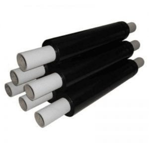 Heavy Duty Black Stretchwrap - 400mm x 300m