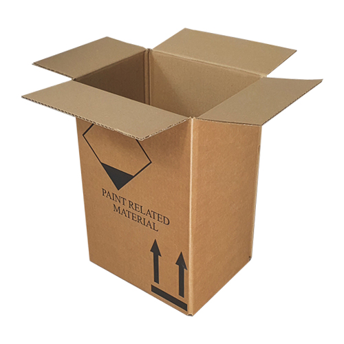 strong single wall packing boxes