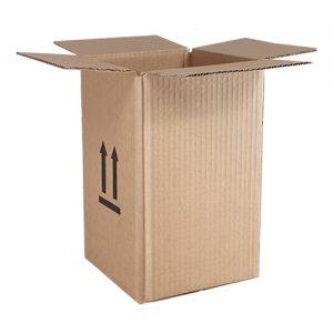 Single wall heavy duty boxes