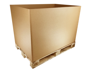 Cardboard boxes from Reuseabox. Pallet boxes available.