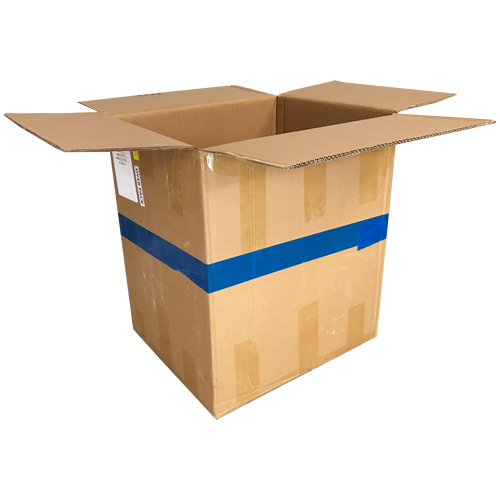 used plain double wall shipping boxes