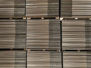 Stockpiling Cardboard Pallet Boxes