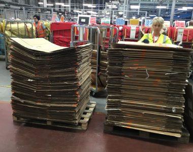 Stop Recycling cardboard