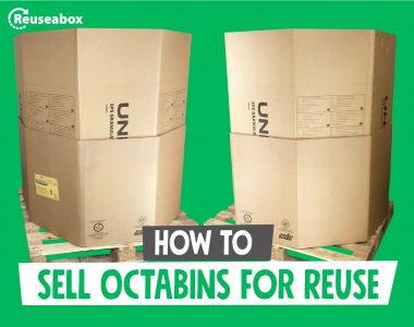 How to sell octabins for reuse