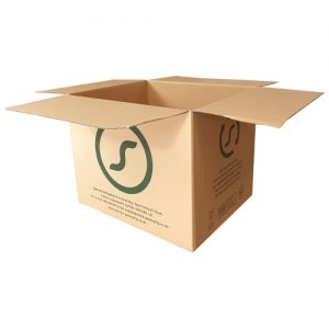 Stackable shipping boxes
