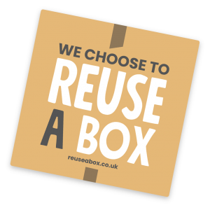We choose to reuse a box badge